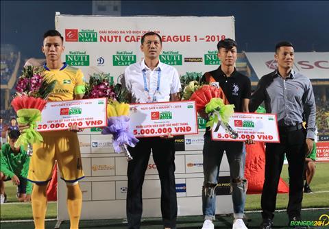 Hà Nội vô địch V-League 2018, sao nhập tịch ăn mừng giàu cảm xúc  hình ảnh