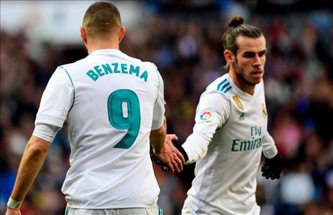 Gareth Bale va Karim Benzema la doi tac tren hang cong theo kieu cung thang, thay vi phai hy sinh cho Ronaldo.