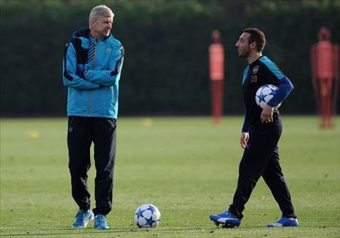 Santi Cazorla nói về HLV Arsene Wenger sau khi rời Arsenal hình ảnh
