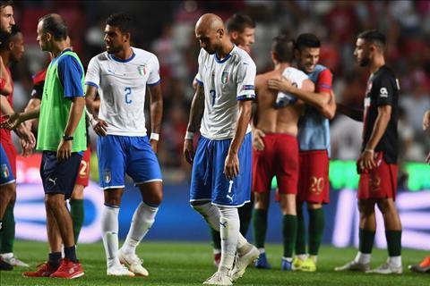 Simone Zaza phát biểu sau trận Bồ Đào Nha 1-0 Italia hình ảnh