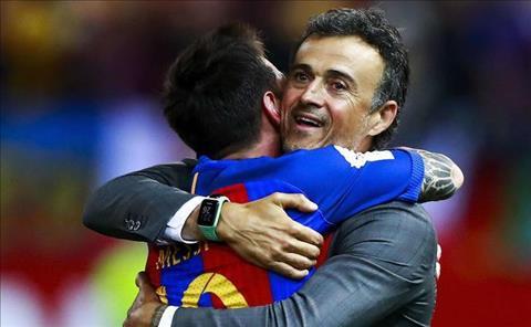 Enrique va Messi