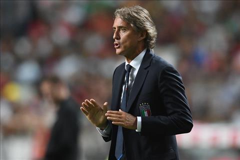 HLV Mancini cua Italia