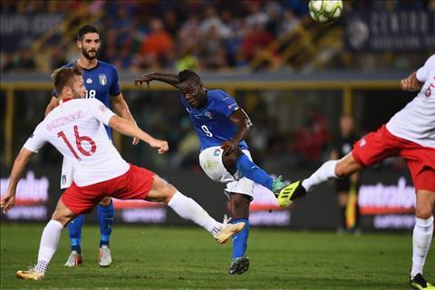 Balotelli dut diem Italia vs Ba Lan