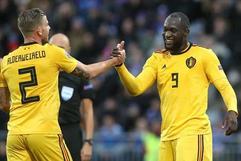 HLV Martinez ca ngợi Lukaku sau trận thắng Iceland hình ảnh