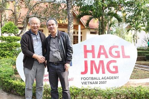 Bầu Đức nói về hợp đồng của HLV Park Hang Seo hình ảnh