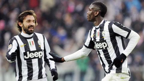 Andrea Pirlo noi ve kha nang Pogba tro lai Juventus