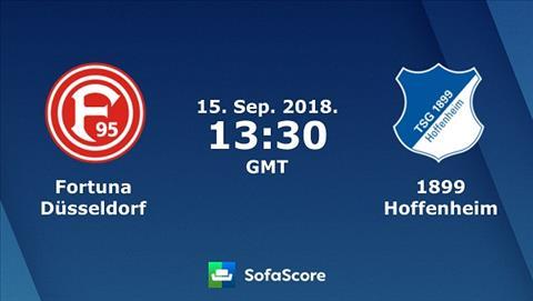 Nhận định Dusseldorf vs Hoffenheim 20h30 ngày 159 Bundesliga hình ảnh
