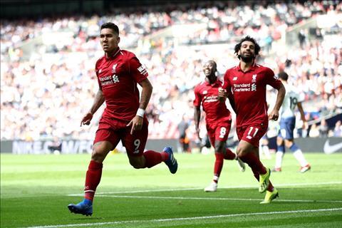 Liverpool thang Tottenham 2-1 Firmino