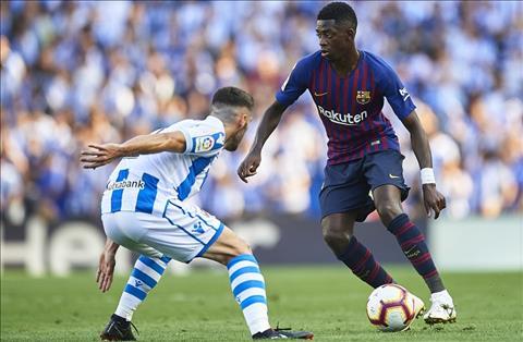 Ousmane Dembele rời Barca vào tháng 1 năm 2019 hình ảnh