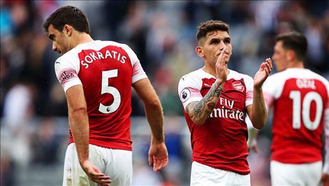 Dư âm Newcastle vs Arsenal Torreira, Guendouzi và hàng phòng ngự hình ảnh