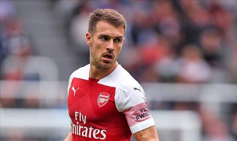 Juventus quan tâm Aaron Ramsey của Arsenal vào tháng 1 năm 2019 hình ảnh