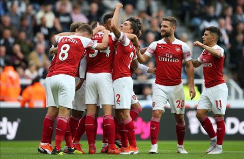 Arsenal thang Newcastle 2-1