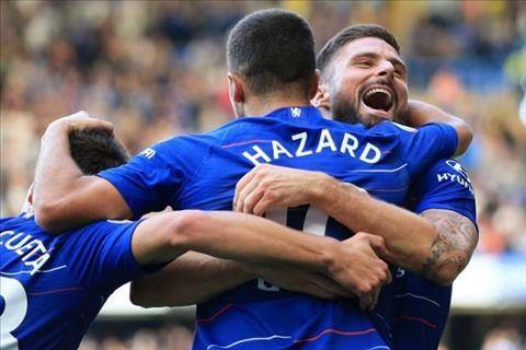 Hazard dành lời khen ngợi Giroud sau 2 đường kiến tạo