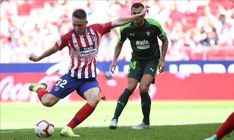 Video tong hop: Atletico Madrid 1-1 Eibar (Vong 4 La Liga 2018/19)