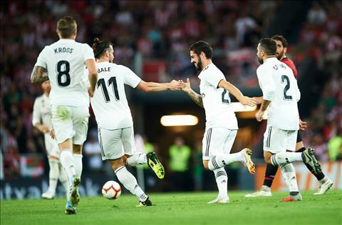 Điểm nhấn Athletic Bilbao vs Real Madrid vòng 4 La Liga 201819 hình ảnh