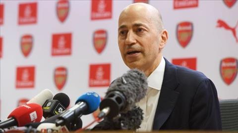 Giám đốc điều hành Ivan Gazidis rời Arsenal cập bến AC Milan hình ảnh