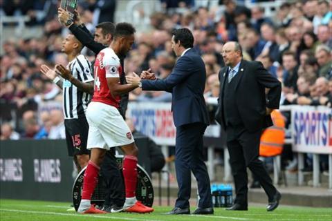HLV Emery nói về tiền đạo Aubameyang của Arsenal hình ảnh