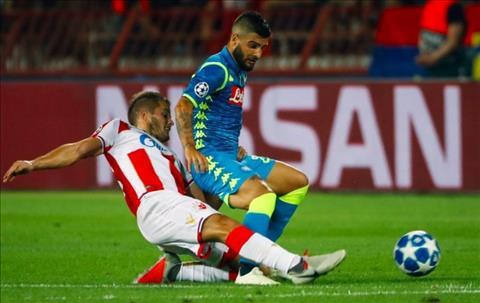 HLV Carlo Ancelotti phát biểu trận Napoli vs Sao Đỏ Belgrade hình ảnh