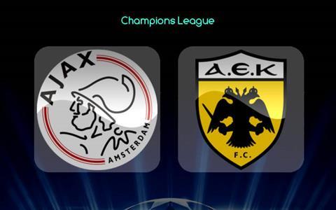 Nhận định Ajax vs AEK Athens 23h55 ngày 199 Champions League hình ảnh