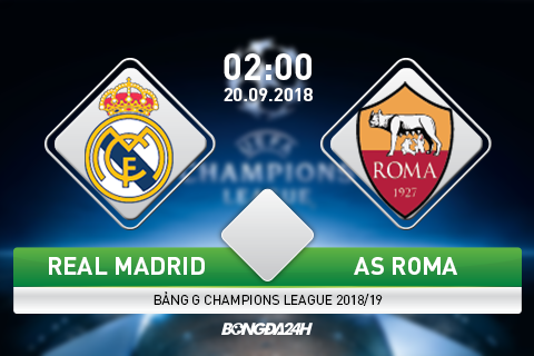 Preview Real Madrid vs Roma