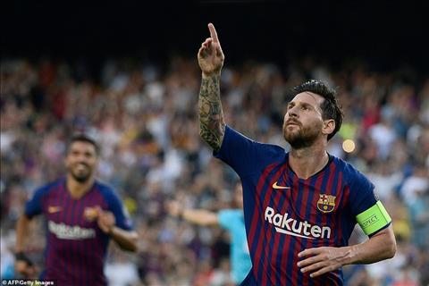 HLV Van Bommel khen ngợi siêu sao Messi trận Barca vs PSV hình ảnh