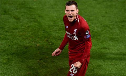 Hậu vệ Andy Robertson phát biểu trận Liverpool vs Chelsea hình ảnh