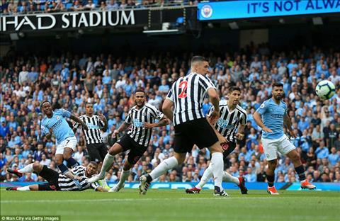 Aguero khong the ghi ban vao luoi Newcastle
