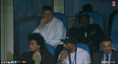Jesus Sane phải ngồi dự bị là lời răn đe ngầm của Pep Guardiola hình ảnh