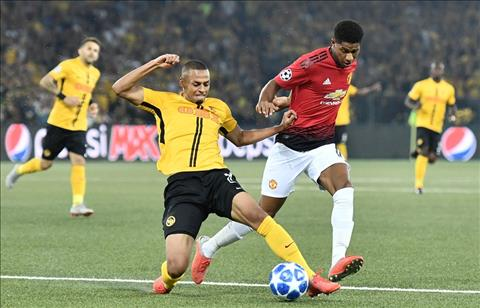 Young Boys vs MU Rashford