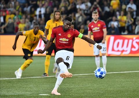 Young Boys vs MU Pogba
