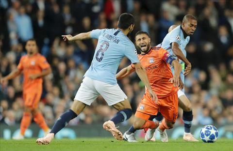 Điểm nhấn Man City vs Lyon bảng F Champions League 201819 hình ảnh