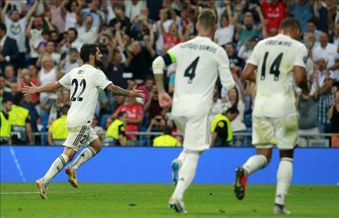 Isco phát biểu sau trận Real Madrid vs Roma hình ảnh