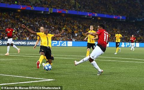 Kết quả Young Boys vs Man Utd trận đấu bảng H Champions League 201819 hình ảnh 4
