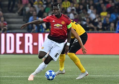 Young Boys vs MU Pogba