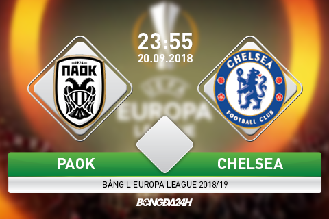 Preview PAOK vs Chelsea