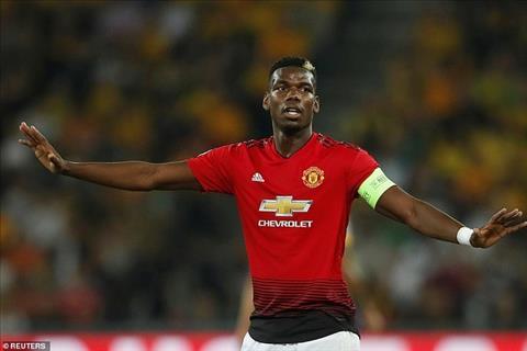 HLV Didier Deschamps bảo vệ ngôi sao Paul Pogba của MU hình ảnh