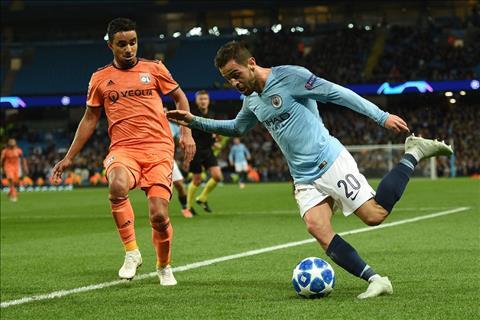 Bernardo Silva choi tot truoc Lyon