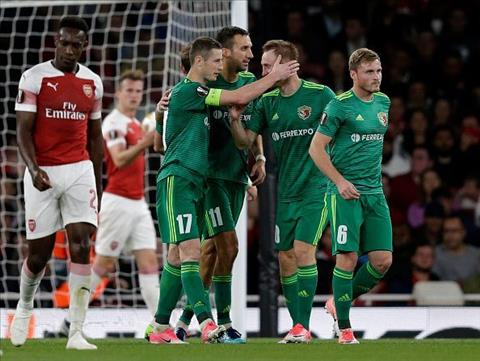 Arsenal vs Vorskla
