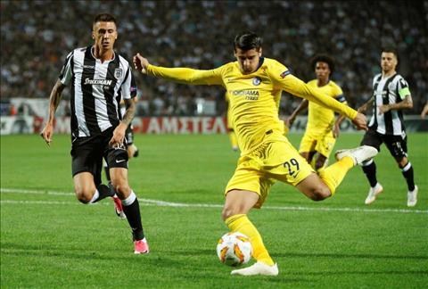 Tien dao Morata tran Chelsea vs PAOK