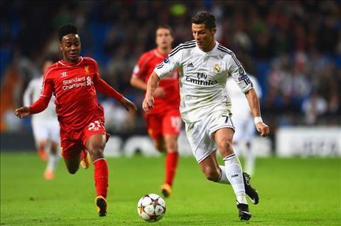 Real Madrid vs Liverpool Ronaldo di bong