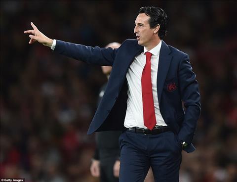 HLV Unai Emery chỉ trích hàng phòng ngự Arsenal hình ảnh
