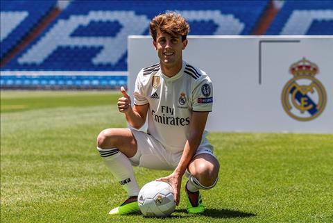 Real Madrid chuẩn bị trình làng hậu vệ Alvaro Odriozola hình ảnh