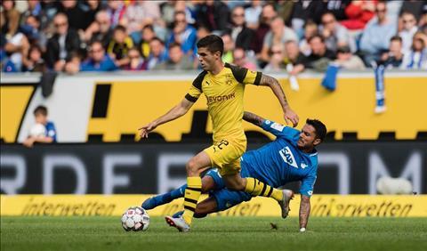 Dortmund may man vot vat duoc 1 diem nho pha lap cong cua Pulisic