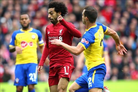 Liverpool vs Southampton Salah