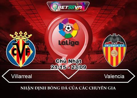 Nhận định Villarreal vs Valencia 21h15 ngày 239 La Liga 201819 hình ảnh