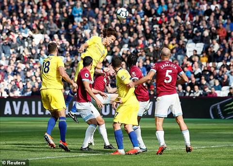 West Ham vs Chelsea Hàng công The Blues ngả mũ trước Fabianski hình ảnh