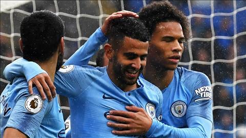 Mahrez ghi bàn đầu tiên giúp Man City đánh bại Cardiff hình ảnh
