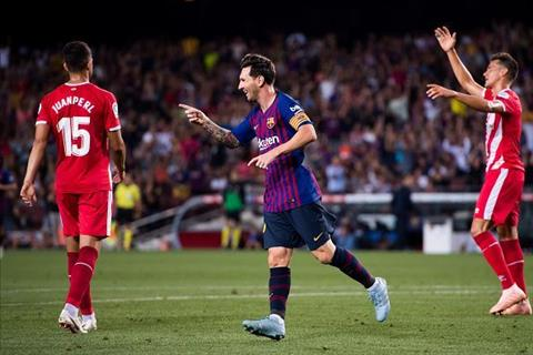 Tiền đạo Messi lại lập kỷ lục trong ngày Barca bị cầm hòa hình ảnh