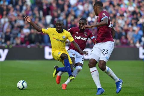 Du am Chelsea vs West Ham Kante