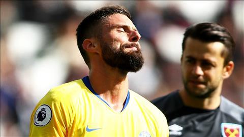 West Ham muốn mua Olivier Giroud vào tháng 1 năm 2019 hình ảnh